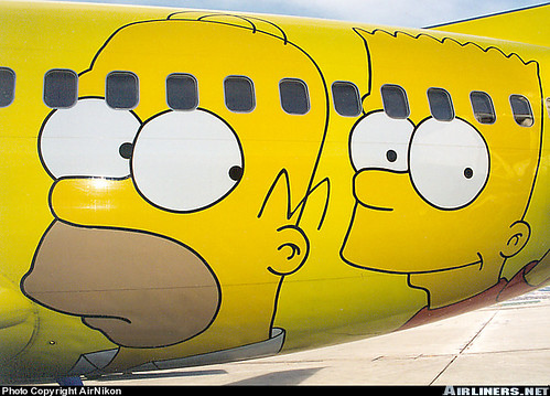 Avion de los Simpsons 2