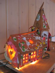 Ginger bread house 2004: Church