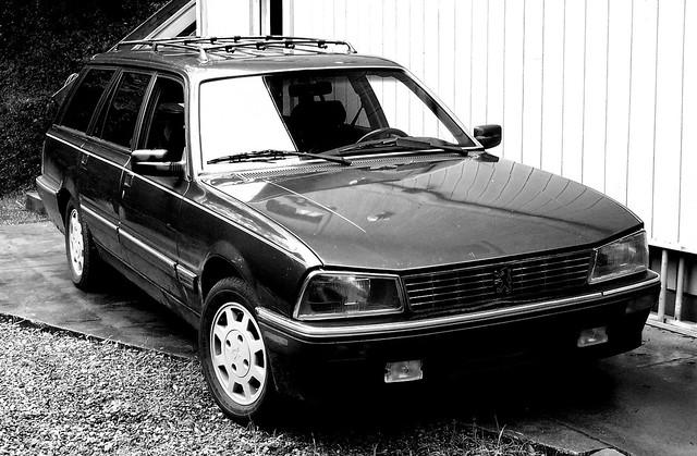 89 peugeot 505 turbo wagon flickr photo sharing. Black Bedroom Furniture Sets. Home Design Ideas