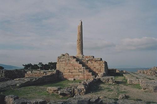 Temple of Apollo - Kolona