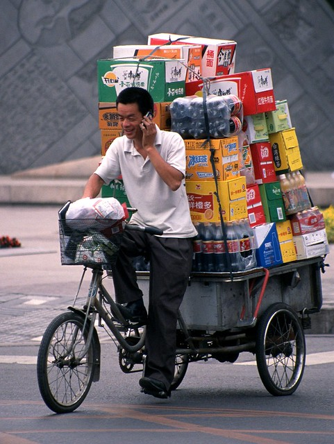 Beijing - The Loaded Bike(c)