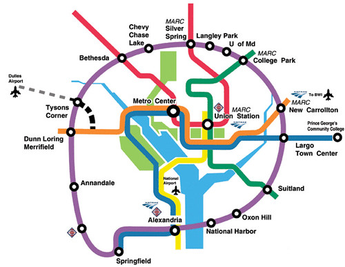 Purple Line Map DC Metro