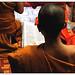 Laos, preghiere serali