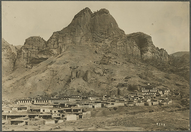 Ragya monastery, Gansu, 1925