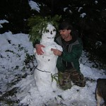 Eric and our Snow Goddess