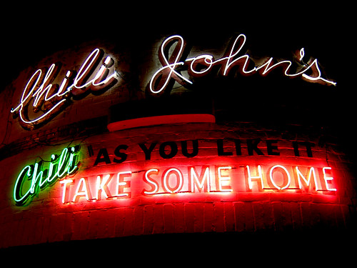 Chili Johns at Night