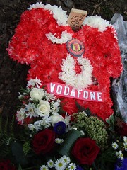 MAN U floral tribute