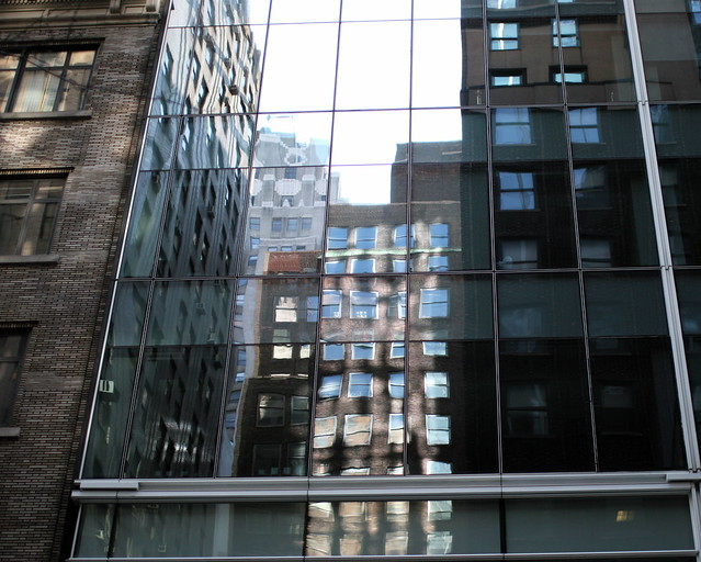 See-through building