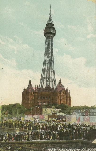 new brighton tower - tallest building in england in 1897