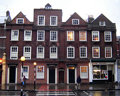 The oldest London brick terrace