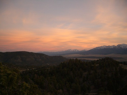 camping sunset colorado buenavista