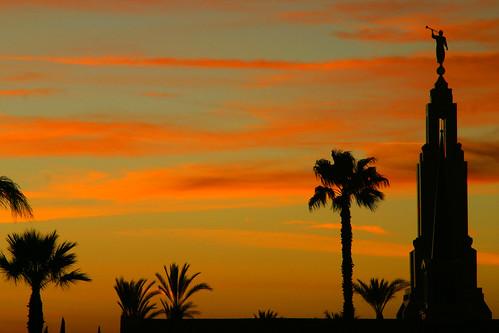 california sunset redlands mormontemple ef28200mmf3556usm