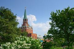 2015 Kreml  Dreifaltigkeitsturm