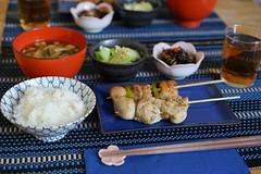 Yakitori dinner