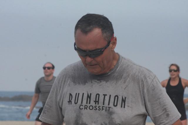 6-27-15 Ruination CrossFit Beach WOD