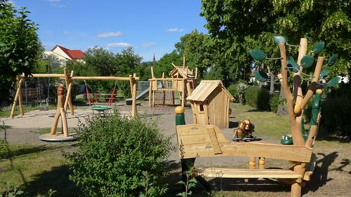 Neuer Spielplatz in der Dorfstraße #4