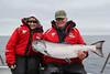 Beautiful Langara Island Chinook salmon