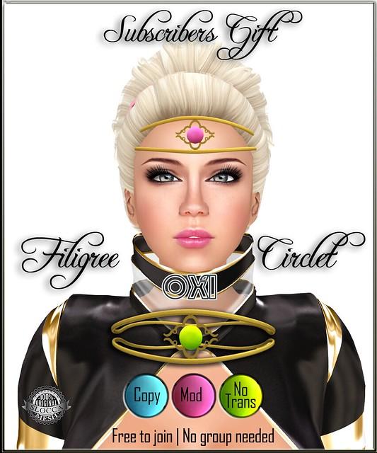 Filigree Circlet - Subscribo Gift