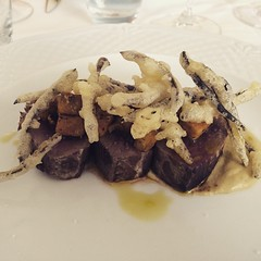 #visioni #cibo #food #tonno#melanzane