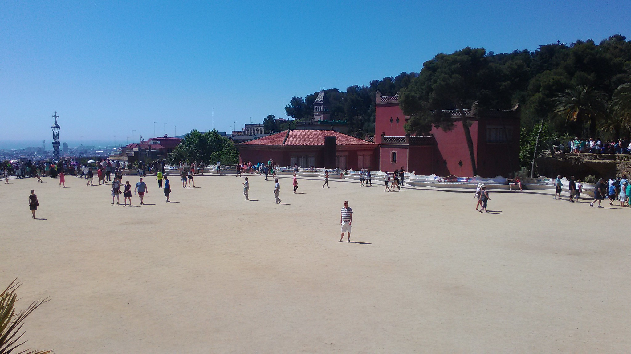 Park Güell - Piazza della Natura