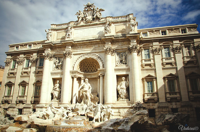 Fountana di Trevi. Rome. Italy.
