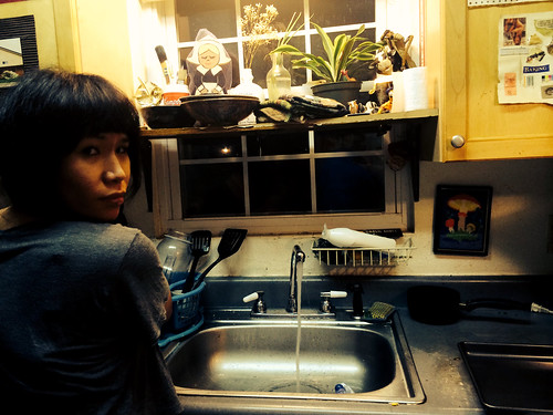 Ana Washing Dishes (July 24 2014) (2)