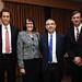 Claudio Seebach, Patricia Fuller, Rodrigo Castillo y Francisco Alliende.