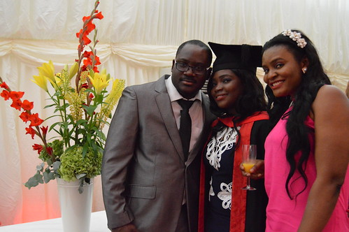 Atoyebi Bukola Victoria with her fiance, Paul and friend, Beverly.