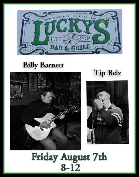Billy, Tip 8-7-15