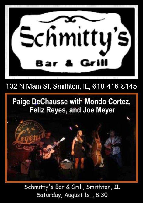 Schmitty's Bar & Grill 8-1-15