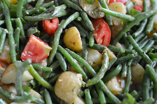 Vegan Potato & Green Bean Salad