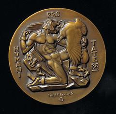 Pro Patria medal reverse