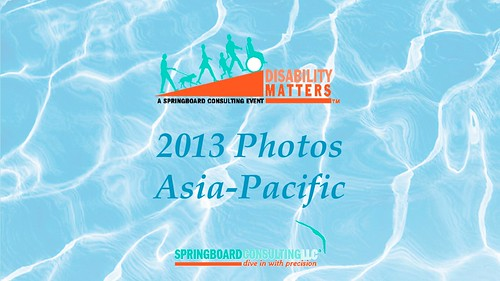 2013 Disability Matters Asia-Pacific Conference & Awards