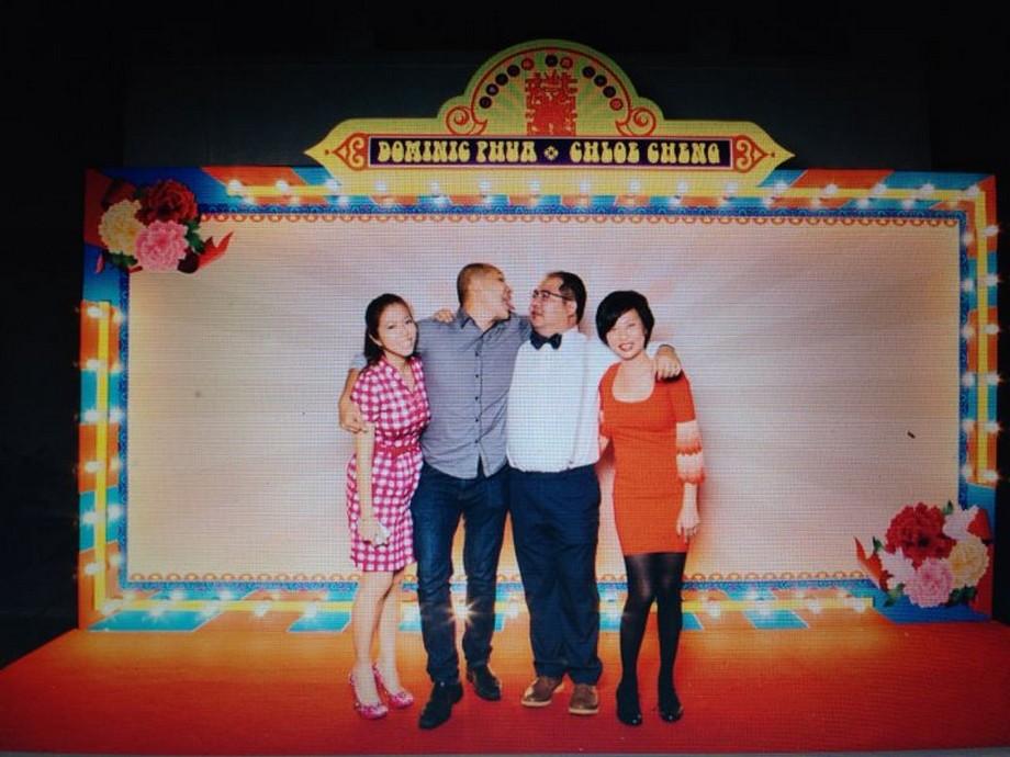 Wedding Day Celebration Singapore 60s 70s Wedding Theme