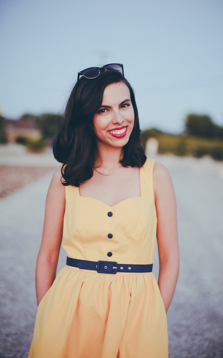 modcloth yellow dress, austin fashion blogger, austin style blog, austin style blogger, austin fashion blog