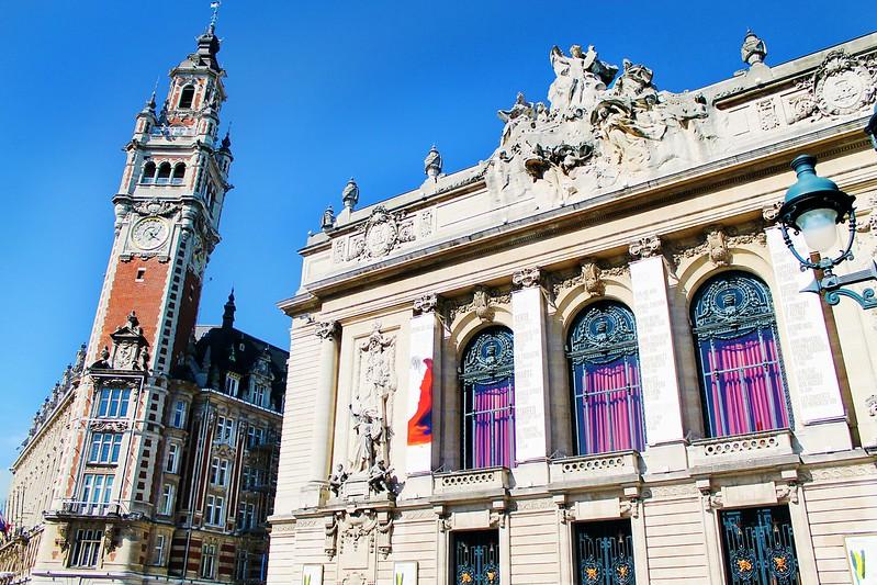 Drawing Dreaming - Guia de Visita de Lille - Place du Théâtre