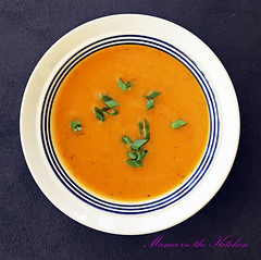 Satisfyingly Simple Sweet Potato Soup in the Instant Pot
