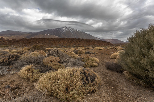 Dark Clouds Over Mont Teide