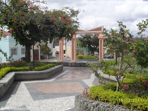 Quebrangulo - Praça Getúlio Vargas