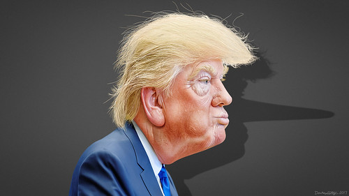 Donald Trump- Caricature