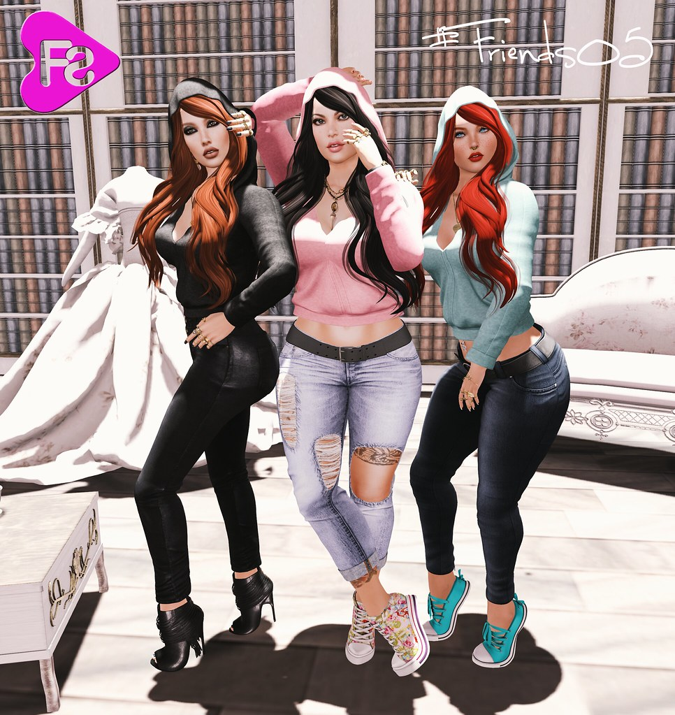 [Frimon Store] #Friends 05 - Gift of the week - SecondLifeHub.com
