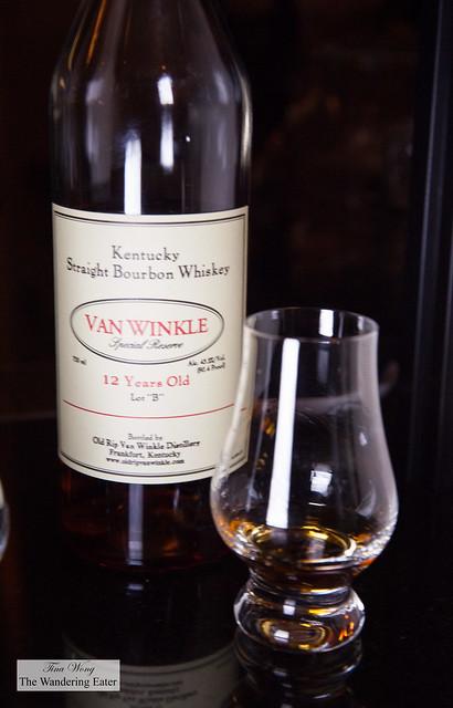 Pappy Van Winkle 12-Year Old Lot B Whiskey