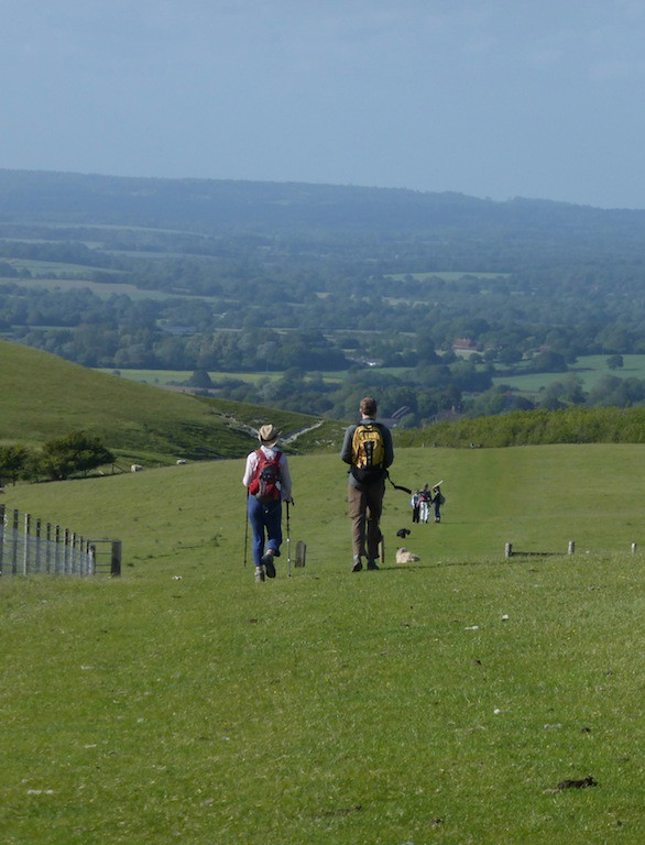 Walking ahead Lewes Circular walk