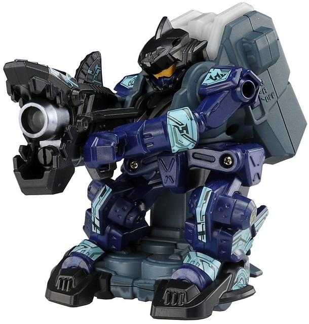 """為戰局增添變數的新性能機體!猛擊鯊 & 巨銃獅!戰鬥射擊機器人""""GAGAN GUN""""新角色登場!"""