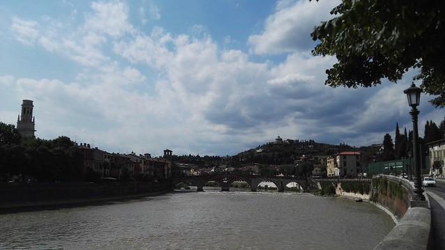 Entlang des Adige