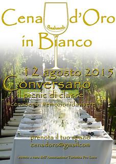 Conversano- Cena D'oro in Bianco 2