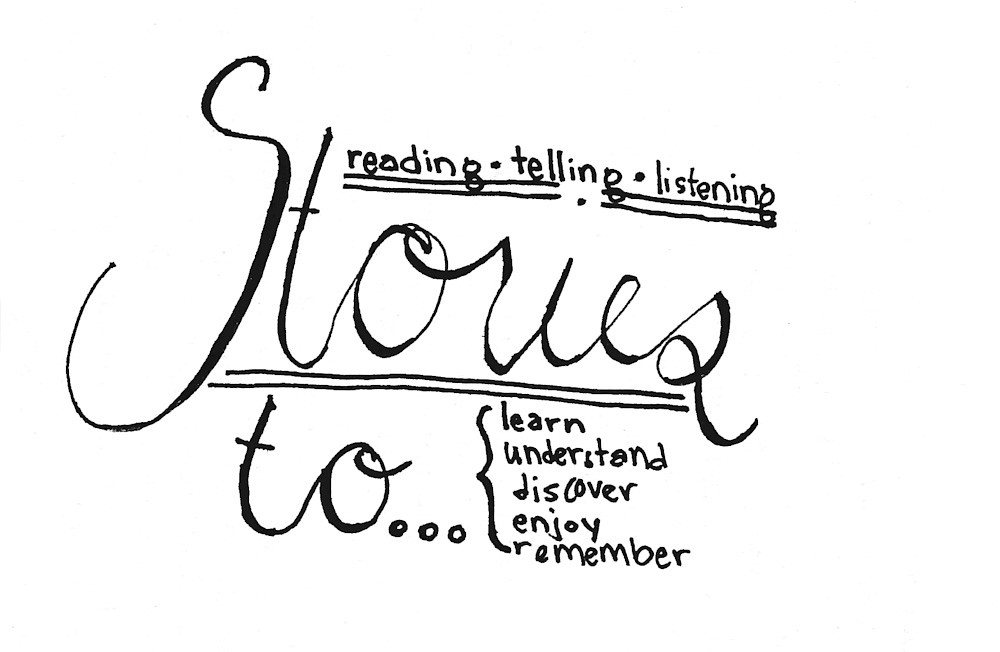 stories :: hand lettering