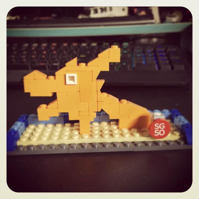 #SG50 #Lego