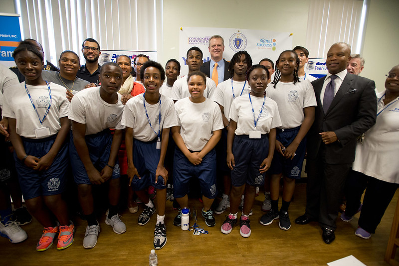 Governor Baker highlights a record $11.5 million investment in the Youth Works Summer Jobs Program