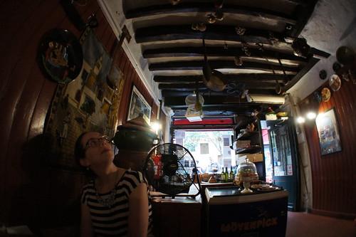 Amy in Chez Hamadi